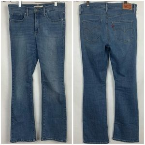 Levi's Women's 315 Shaping Bootcut Blue Jeans 30